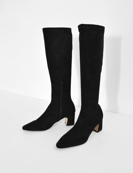 [SALE] EASY KNEE-HIGH BOOTS (2TYPE/4COLOR)