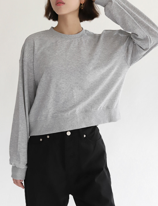 [STOCK SALE] MINI CROP MTM (4COLOR)