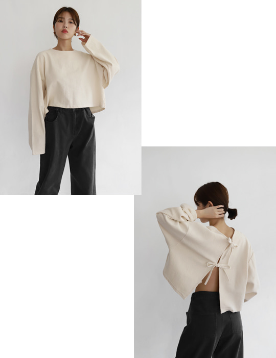 BREAD TOP & CARDIGAN (3COLOR)