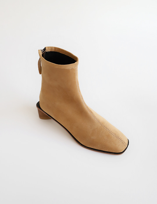 VIENNA SUEDE BOOTS (2COLOR)