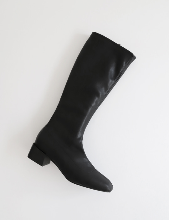 SLIM-FIT LONG BOOTS (2TYPE)