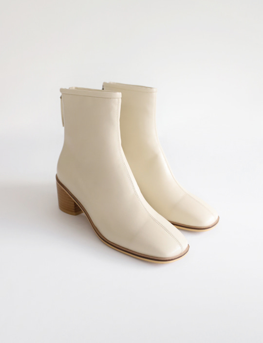 HOWELL MIDDLE-HEEL BOOTS (3COLOR)
