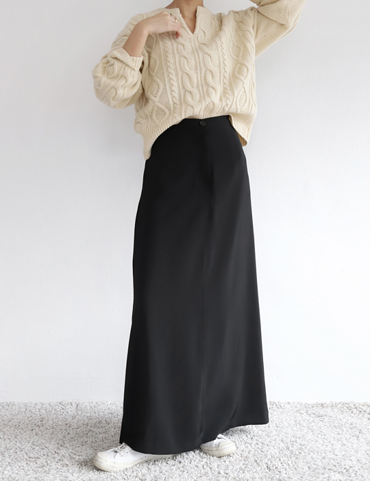 A LONG SKIRT (2COLOR)