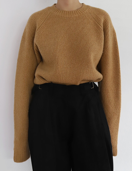 YOUTH WOOL KNIT (4COLOR)