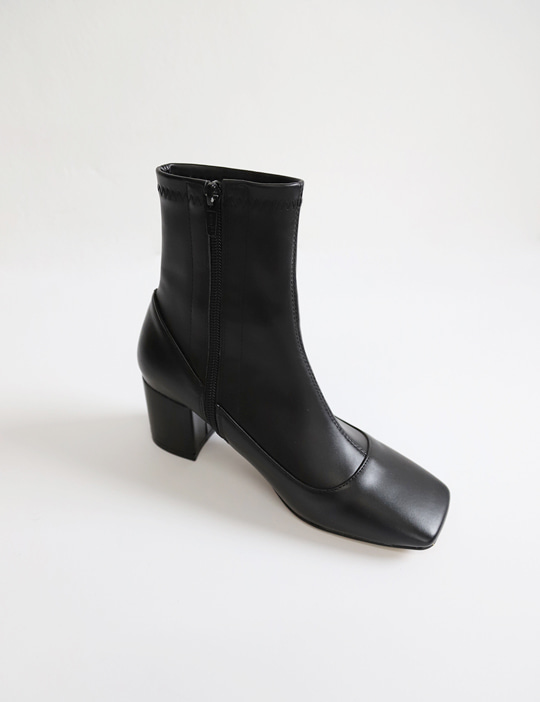 SQUARE SLIM BOOTS (2TYPE)