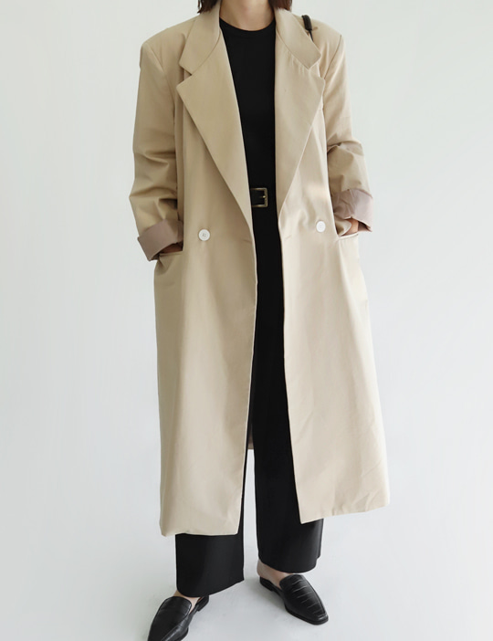 SOHO DOUBLE COAT (2COLOR)