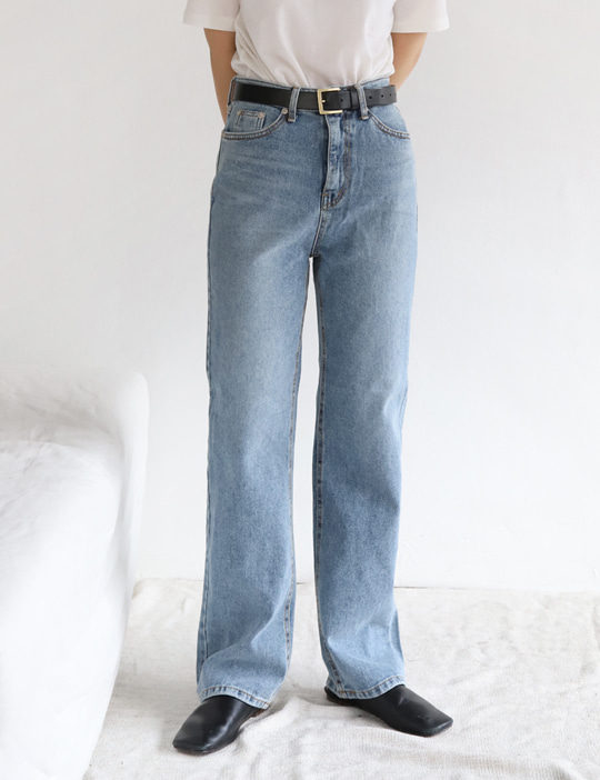 MIDDLE DENIM PANTS