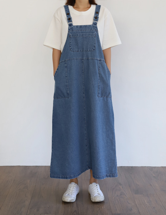 DENIM OVERALL OPS
