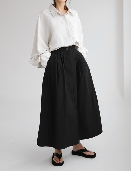 PUMPKIN LONG SKIRT (3COLOR)