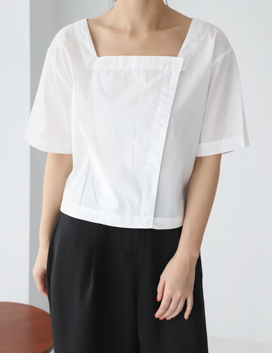 SQUARE BLOUSE (3COLOR)