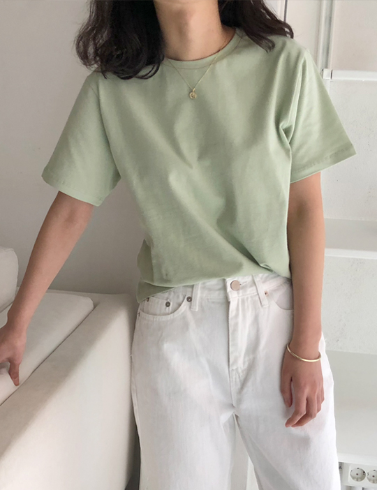 A ROUND TEE (5COLOR)