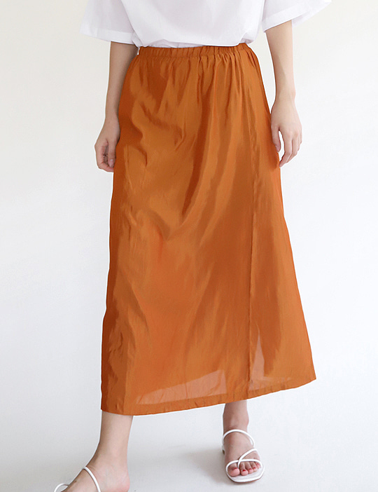 SOFTLY COLOR SKIRT (5COLOR)