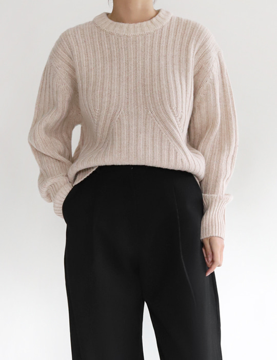 VOLUME KNIT (3COLOR)