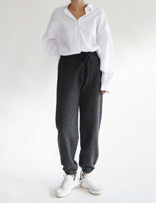 FINE KNIT PANTS (2COLOR)