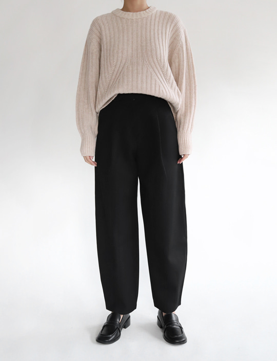 SLOUCHY PANTS (2COLOR)