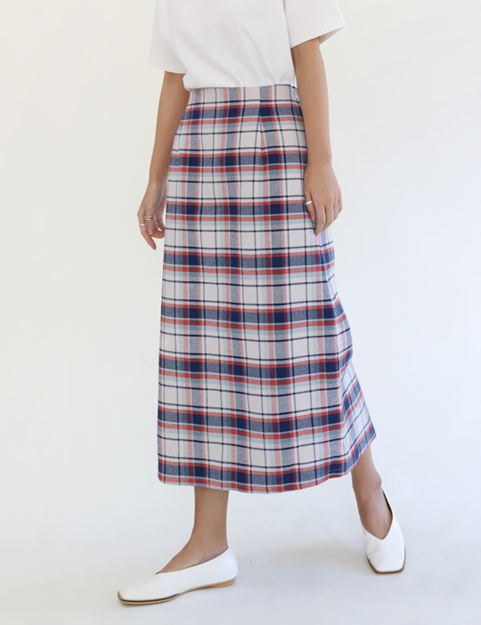 BRITISH CHECK SKIRT (2COLOR)