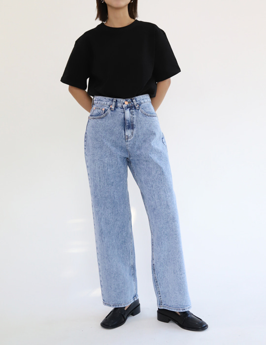 RETRO DENIM PANTS (2COLOR)