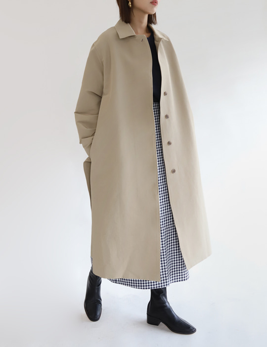 HIDDEN TRENCH COAT (2COLOR)