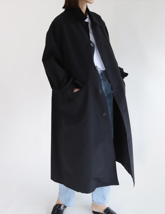 STUDIO TRENCH COAT (2COLOR)