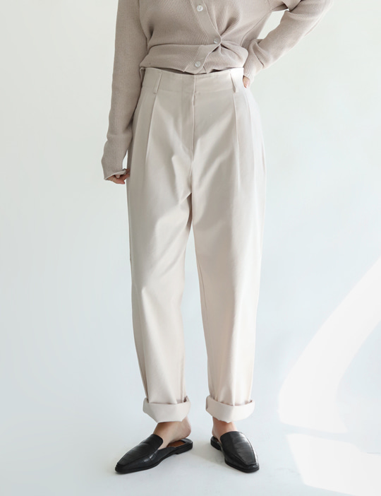 EDITION TUCK PANTS (3COLOR)