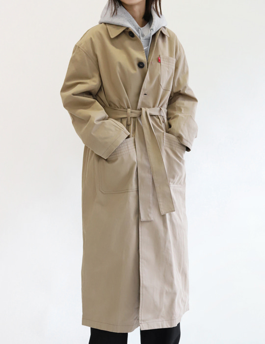 MILITARY TRENCH COAT (3COLOR)