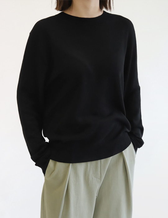 SPRING WHOLEGARMENT KNIT (4COLOR)