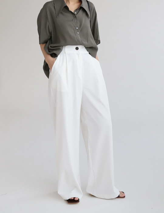 FORMAL WIDE PANTS (4COLOR)
