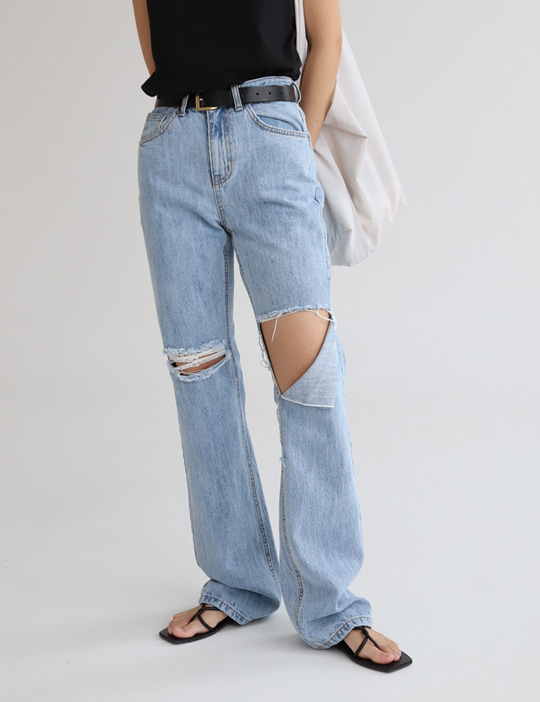 GRUNGE DENIM PANTS