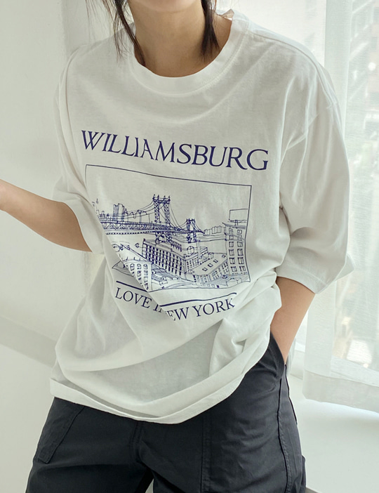 WILLIAM TEE (2COLOR)