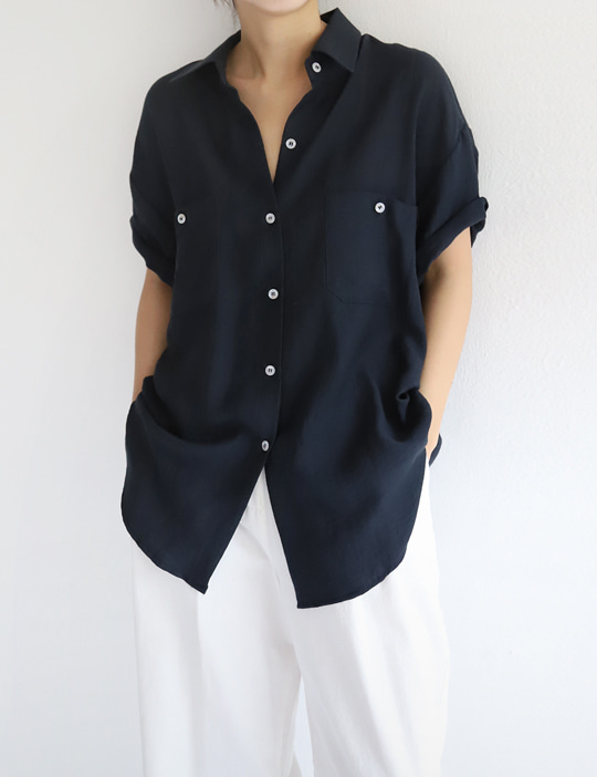 MILKYWAY LINEN SHIRTS (3COLOR)