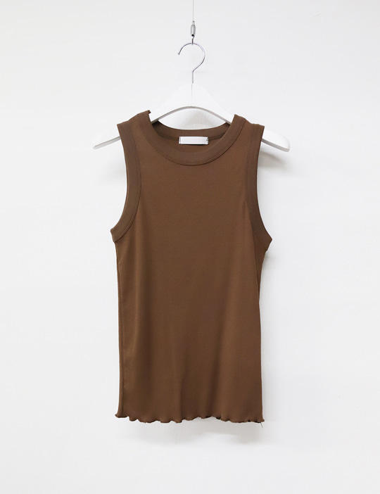ROUND GOLGI SLEEVELESS (6COLOR)