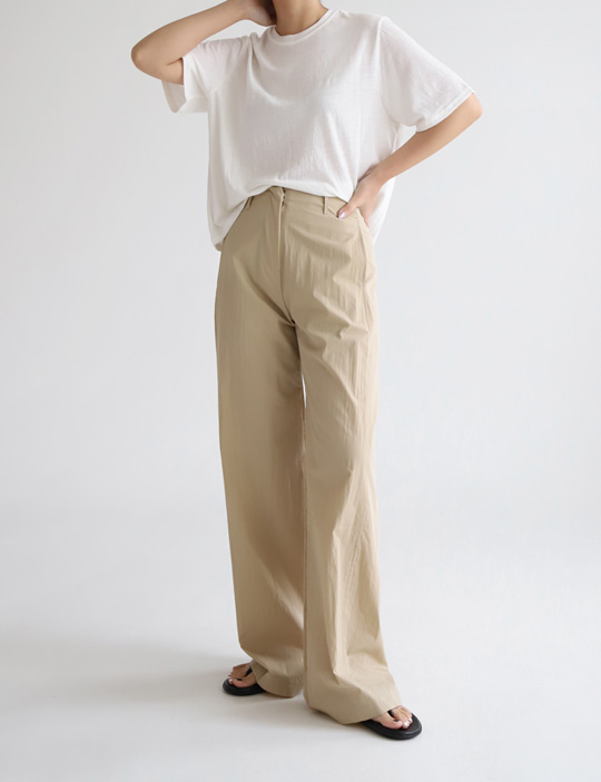 PUSH CRISPY PANTS (3COLOR)