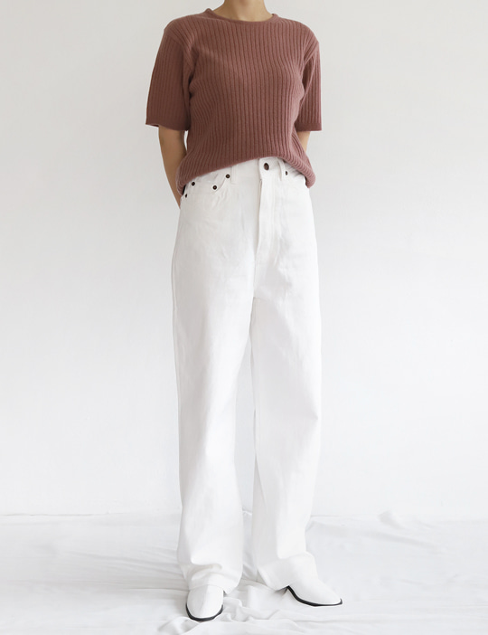 LOOK COTTON PANTS (3COLOR)