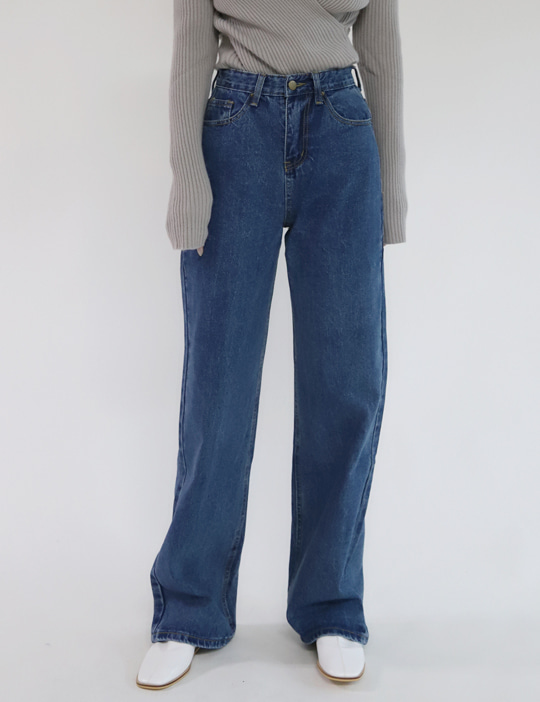 ALL STRAIGHT DENIM PANTS (3COLOR)