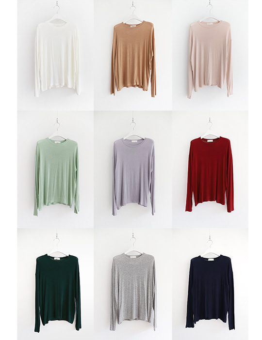 [STOCK SALE] TENDER COLOR TEE (10COLOR)