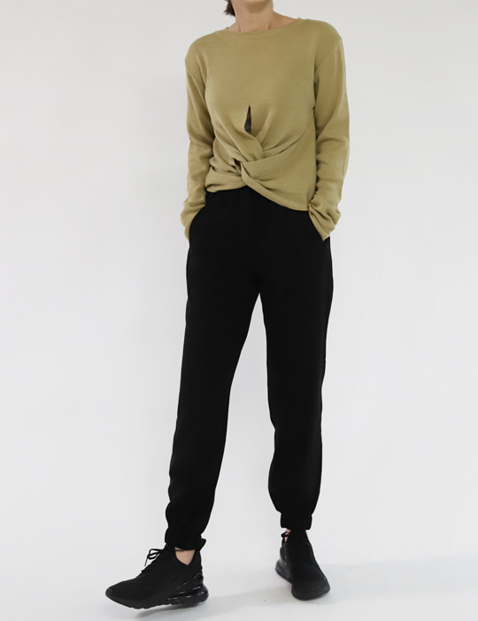LIGHT JOGGER PANTS (2COLOR)