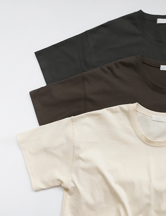BEST COTTON TEE (4COLOR)