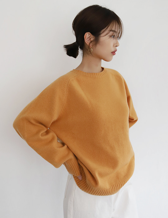 CITRUS RAGLAN KNIT (4COLOR)