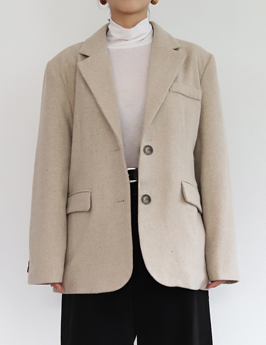 SHOP WOOL JACKET (3COLOR)