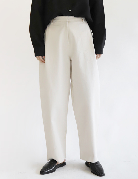 AVANT COTTON PANTS (2COLOR)