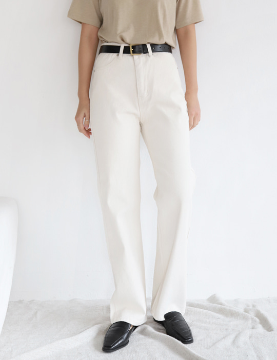 MIDDLE IVORY PANTS