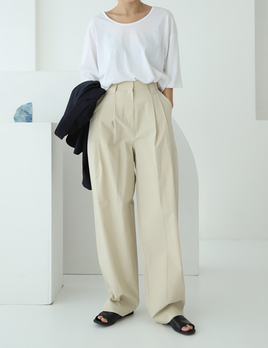 HOUSE COTTON PANTS (3COLOR)