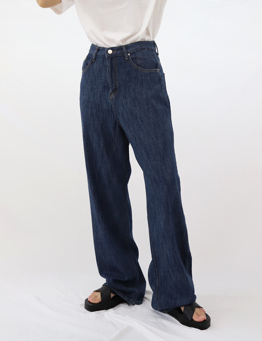 SOFT DENIM PANTS (2COLOR)